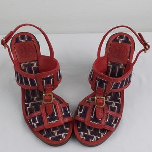 Rare TORY BURCH  Size 6.5 with 4 inche heel